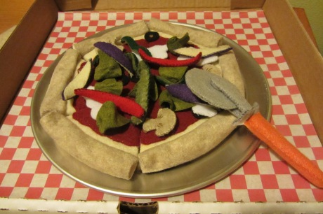 Veggie pizza anyone?